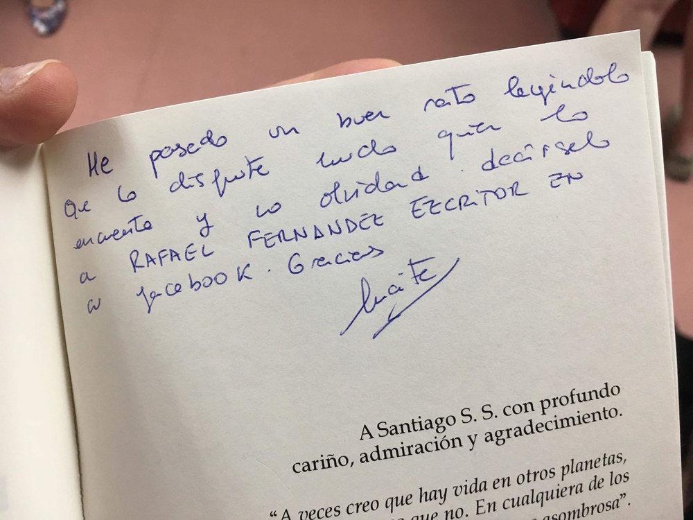 La generosa lectora le sumó esta nota.