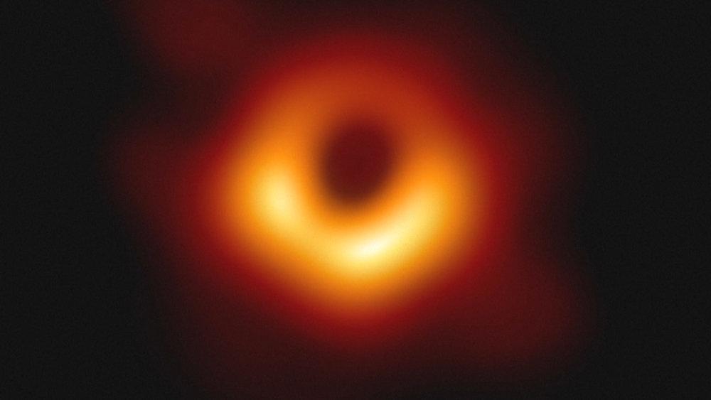 La foto enviada por Jim al Event Horizon Telescopio.
