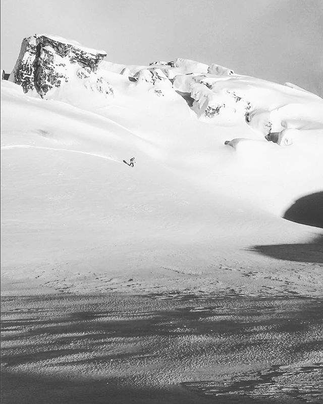 back in the powder @laax