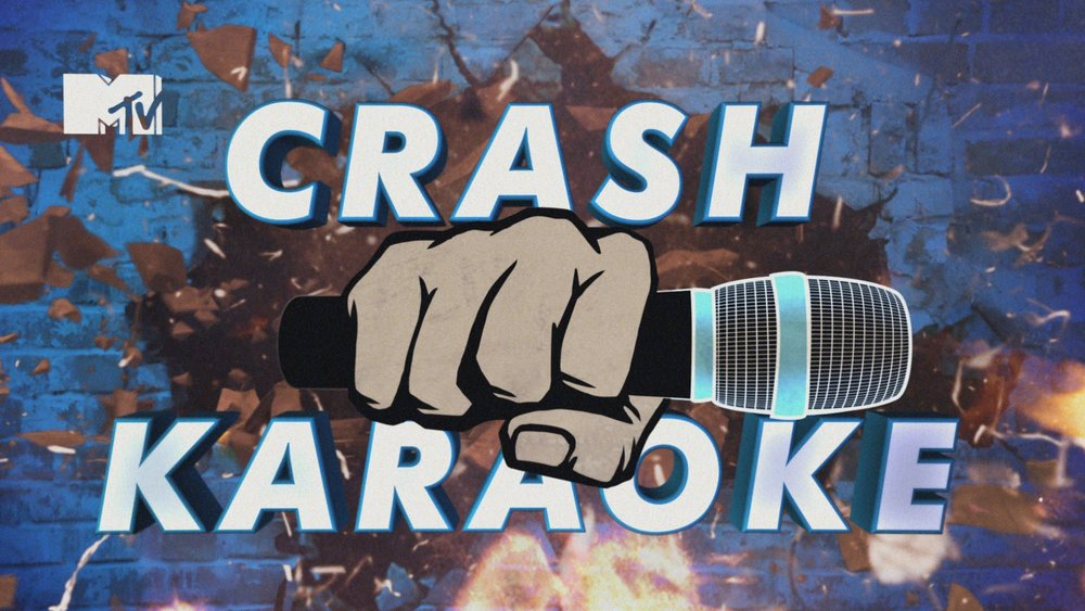 MTV   Crash Karaoke is a pop-up karaoke game show that bursts in on unassuming locations.