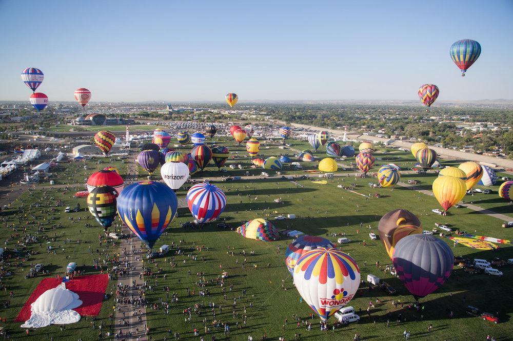 2017 International Balloon Fiesta in Albuquerque, New Mexico