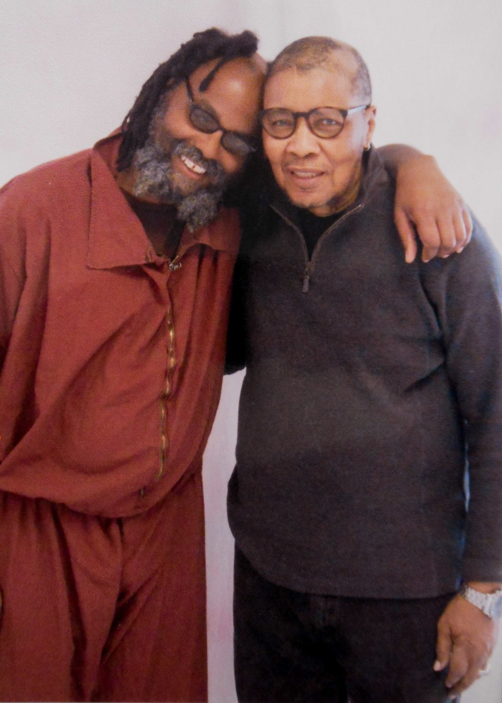 From Left - Mumia Abu-Jamal, his brother Keith Cook