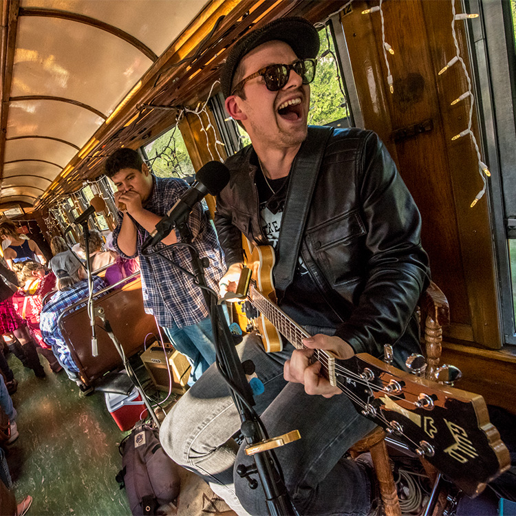 Durango Blues Train | A.J. Fullerton