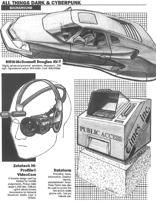 From the Cyberpunk 2020 corebook