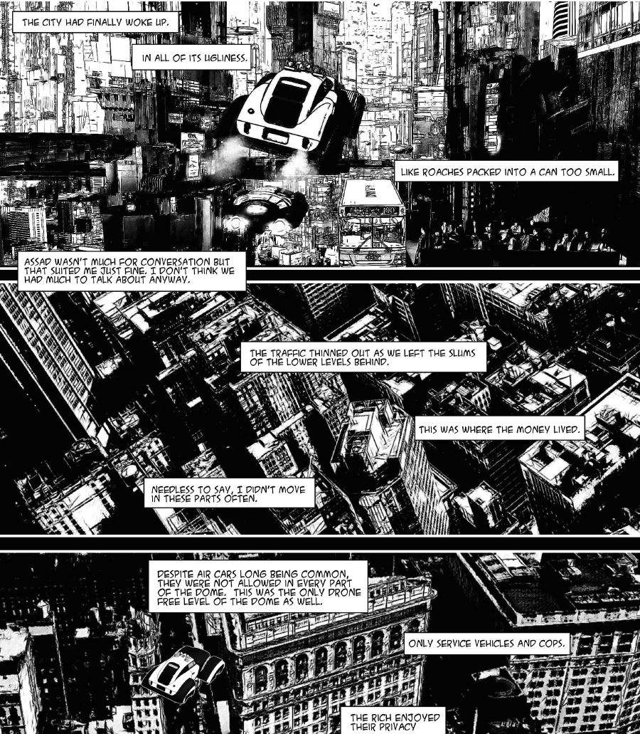 From the pages of Cybernetic Punk