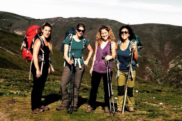 Camino de Santiago, 2015 - Walking for 7 days with a group of women. A time to unwind and relish the history and beauty of Northern Spain. Staying in huts along the way and savouring Spanish cuisine in the evenings. It was an unforgettable experience.