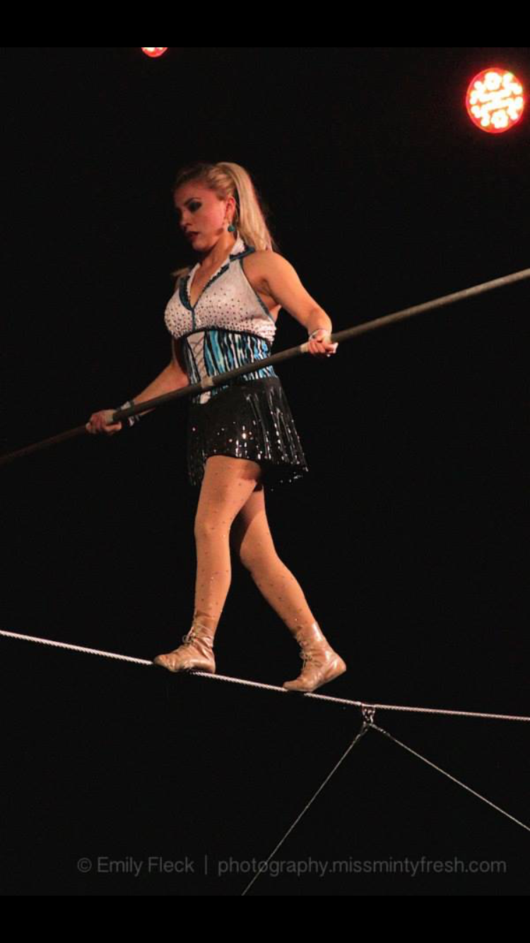 Maria Lopez on High Wire