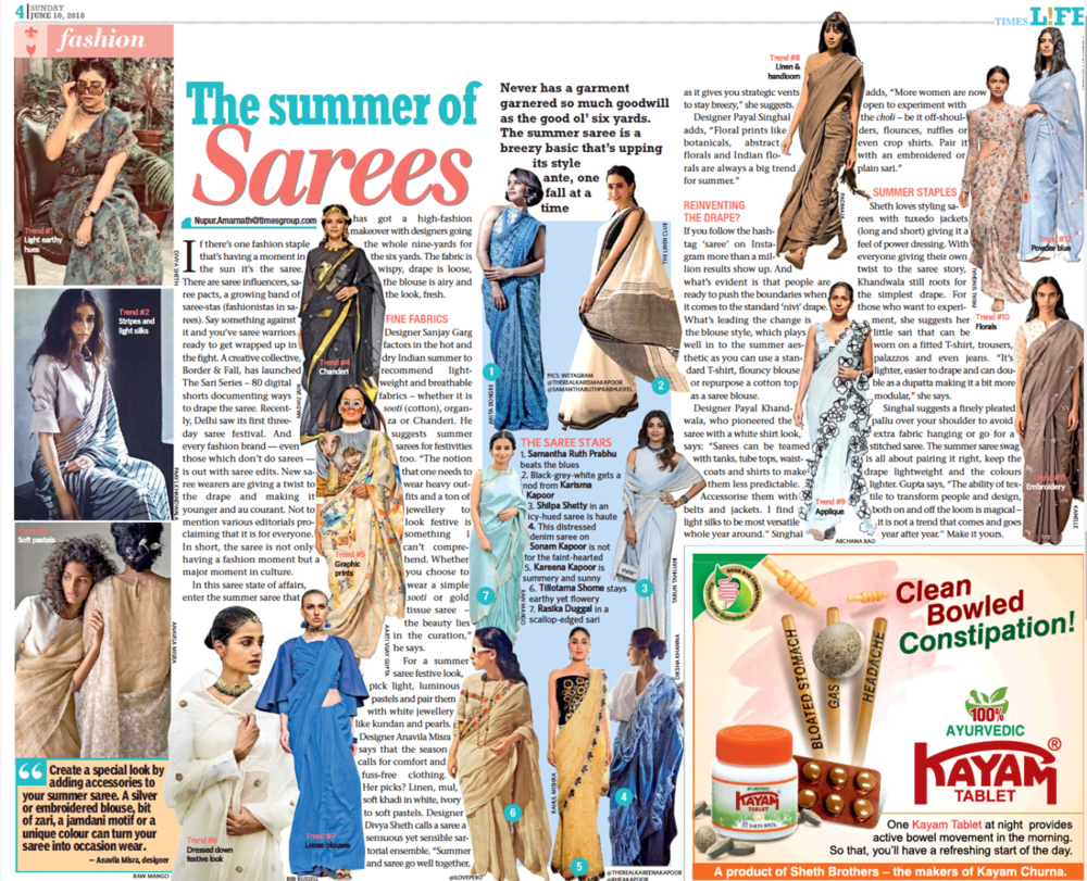Times Life , 10th June - Kolkata