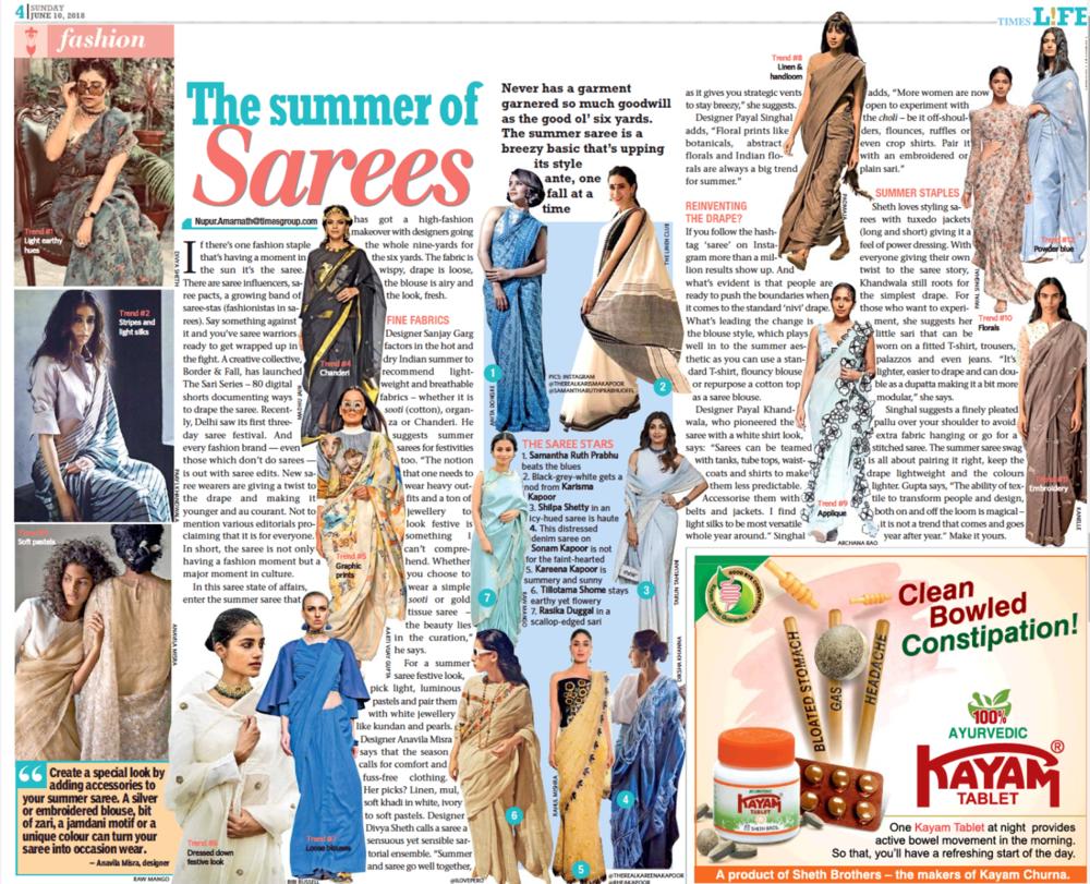 Times Life , 10th June - Kolkata