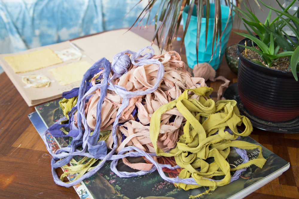 ribbons that need to be pressed and spooled!