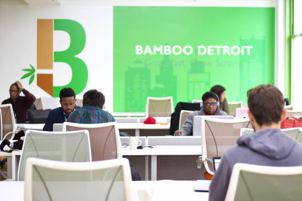 Bamboo Detroit Office Space U0026 Detroit Coworking Space