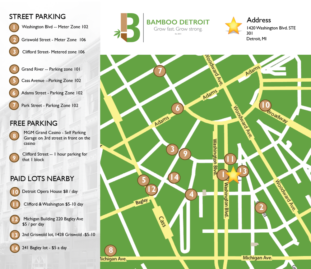 Click here to expand the parking map.