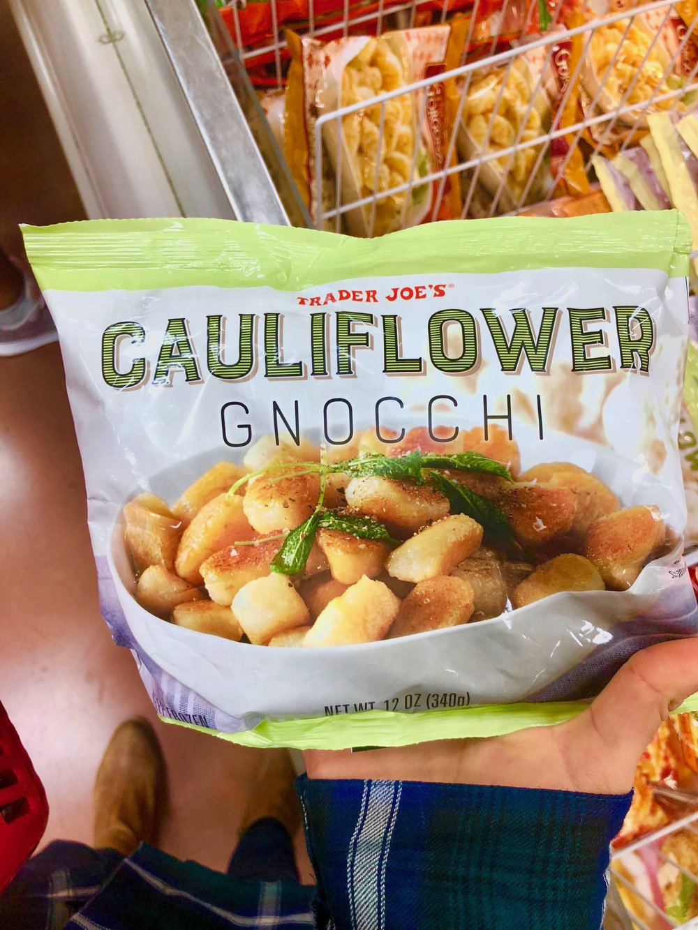Any pasta lovers out there?? Well you've heard of cauliflower rice, cauliflower pizza crust, but what about gnocchi?? Probs not but this stuff is good!! Idk how they do it, but they make it work! Good low-calorie and low-carb alternative to pasta without really sacrificing flavor in my opinion.