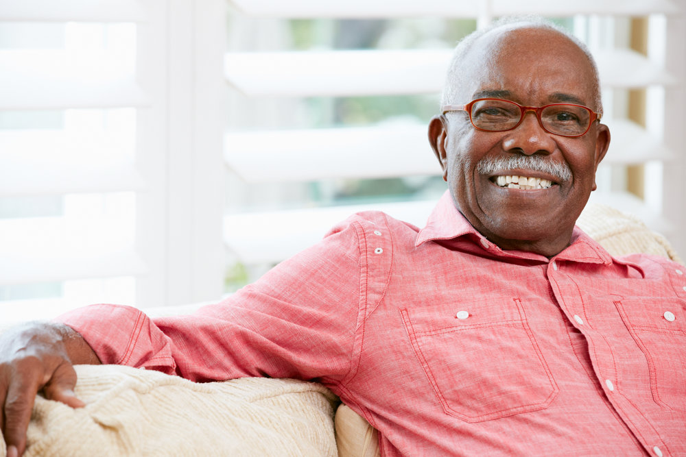 African American Senior Citizen Man