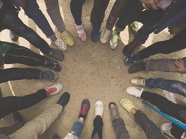 Traumasensitives Yoga für Flüchtlinge -