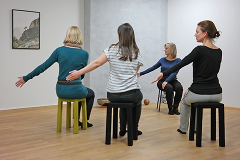 Trauma Sensitive Yoga Groups - Gentle body and breathing exercises help you to regain perception of your body as a safe place, enabling you to feel at home in it.Find out more about TSY