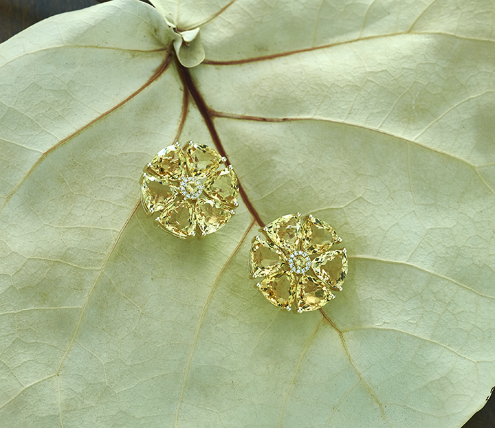 Citrine Flower Earring Sea Grape_LR.jpg