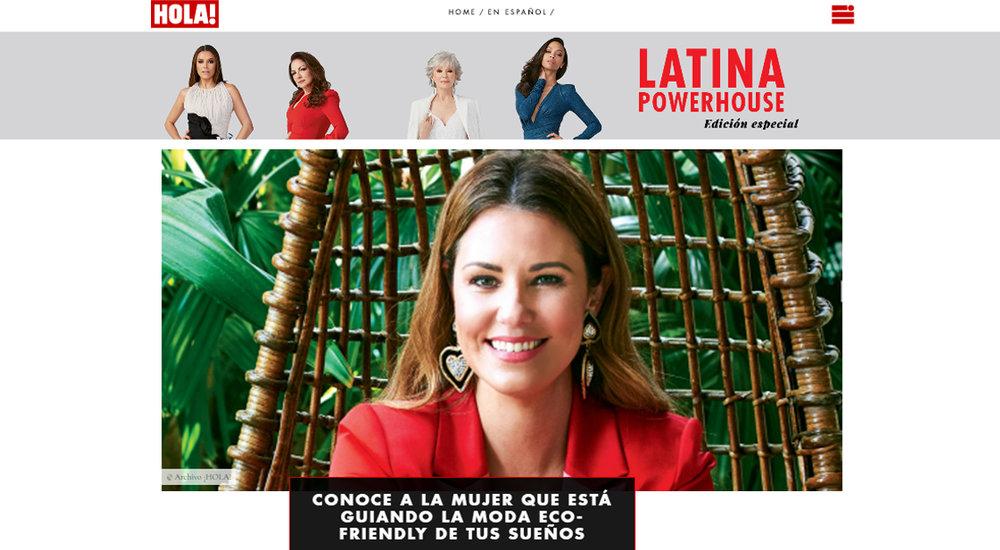 hOLA! - La moda ecológica está en boca de todos en estos tiempos y una de las mujeres líderes en la vanguardia de esta misión que se enfoca en la forma de vestir inteligente, es Karina Rosendo. Conoce a la mujer que está haciendo de la moda sustentable una nueva norma en la era moderna.