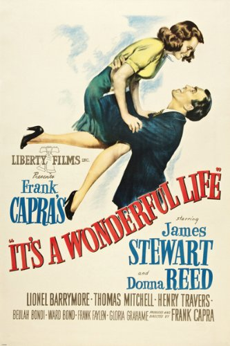 Directed by Frank Capra - Written by Frances Goodrich, Albert Hackett, Frank Capra, Jo Swerling, Philip Van Doren Stern, and Michael Wilson