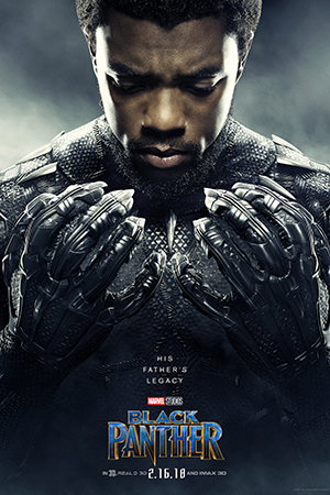 Directed by Ryan Coogler - Written by Ryan Coogler and Joe Robert Cole - Based on Marvel Comics by Stan Lee and Jack Kirby