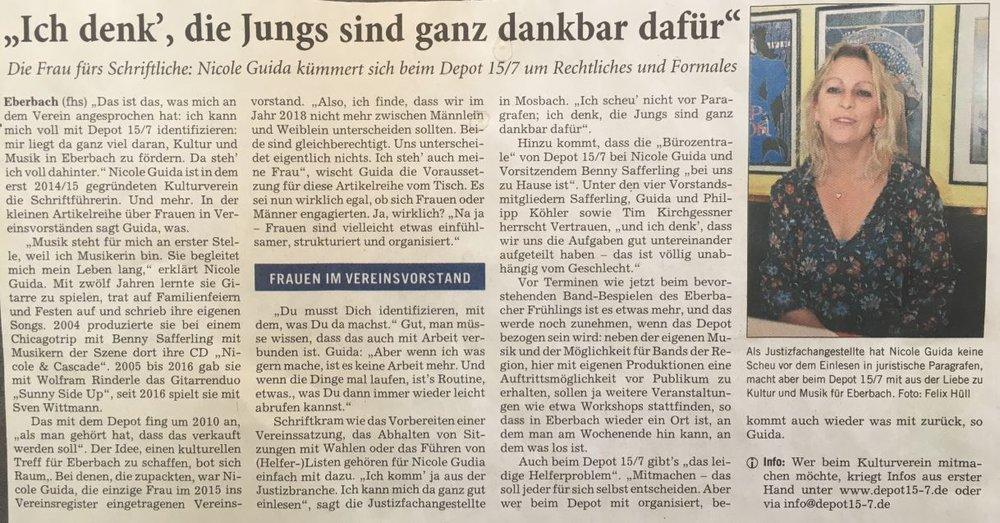 (Quelle Rhein-Neckar-Zeitung vom 4. Mai 2018)