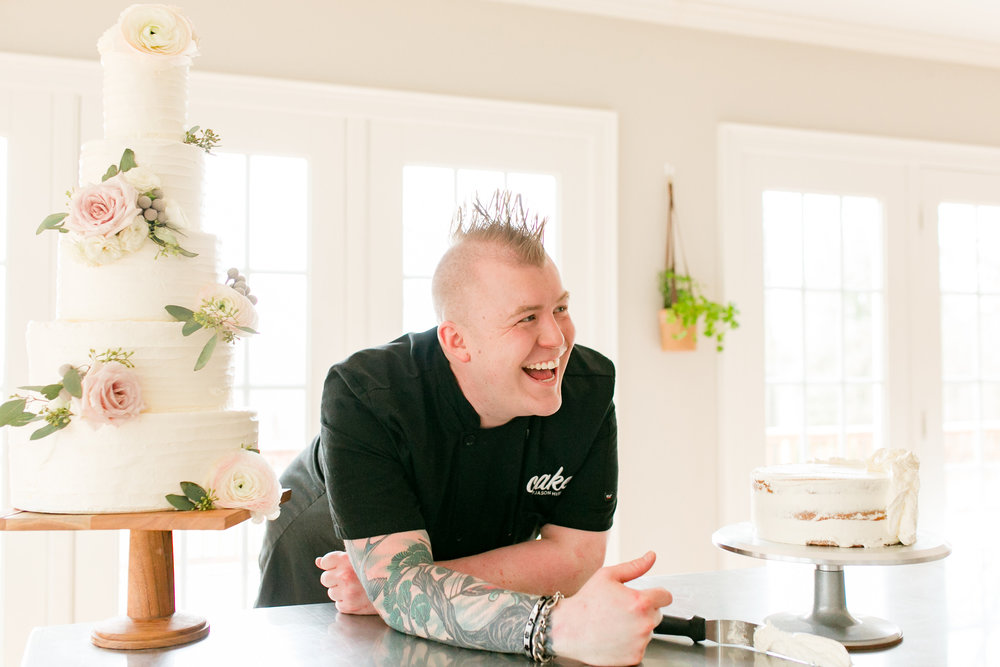 Jason Hisley, Founder & Executive Chef of Cake™