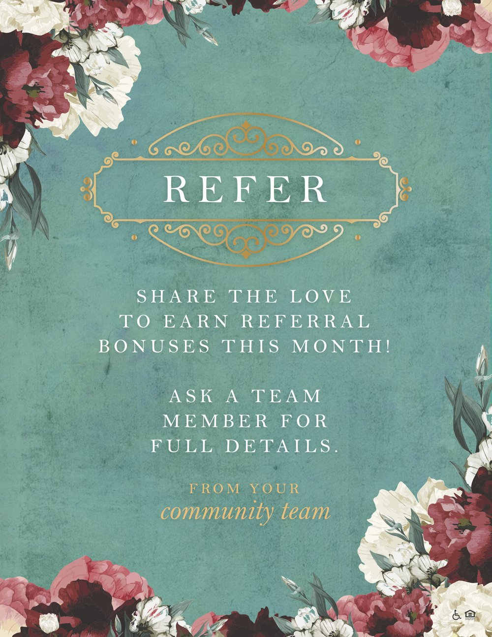 Grab your matching referral flyer  here .