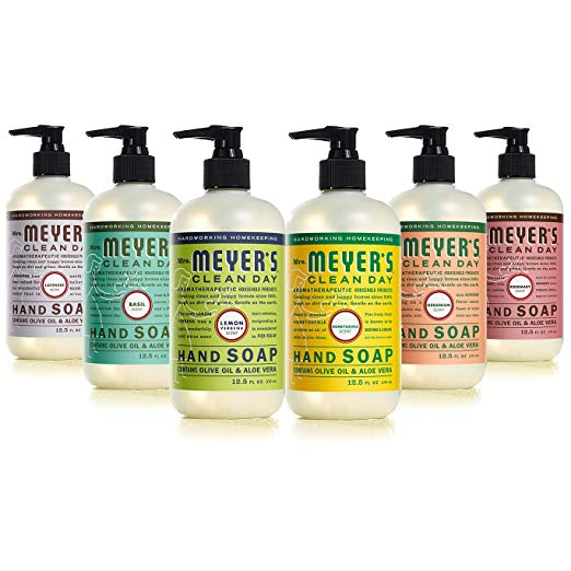 Mrs. Meyers Clean Day Liquid Hand Soap 6 Scent Variety Pack - $26.39