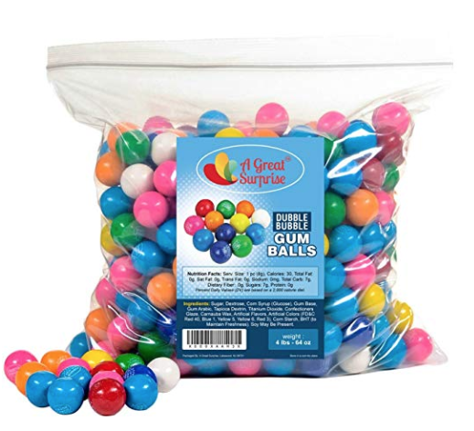 Dubble Bubble Gumballs - 4 lbs