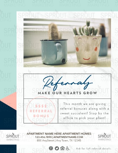 Click here to customize this referral flyer.