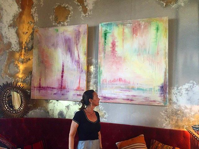 Another picture of my exhibition @coyadubai in 2015. Free your soul.  #art #arte #abstract #abstracto #abstractart #arteabstracto #contemporary #contemporaneo #contemporaryart #artecontemporáneo #artist #artista #artistic #creative #creation #creativo #inspohome #exhibition #decor #decoration #decoracion #interiorismo #interiordesign #dubai #textures #colours #colores #texturas #artdaily —�—�—�—�—�—�—�—�—� • Buy my paintings on: www.saatchiart.com/esthera - we ship worldwide!📦🌎 You can also buy smaller prints of my paintings from only 100$. • Compra mis cuadros en www.saatchiart.com/esthera - enviamos a nivel mundial!📦🌍 También podéis comprar impresiones en papel desde tan solo 100$.