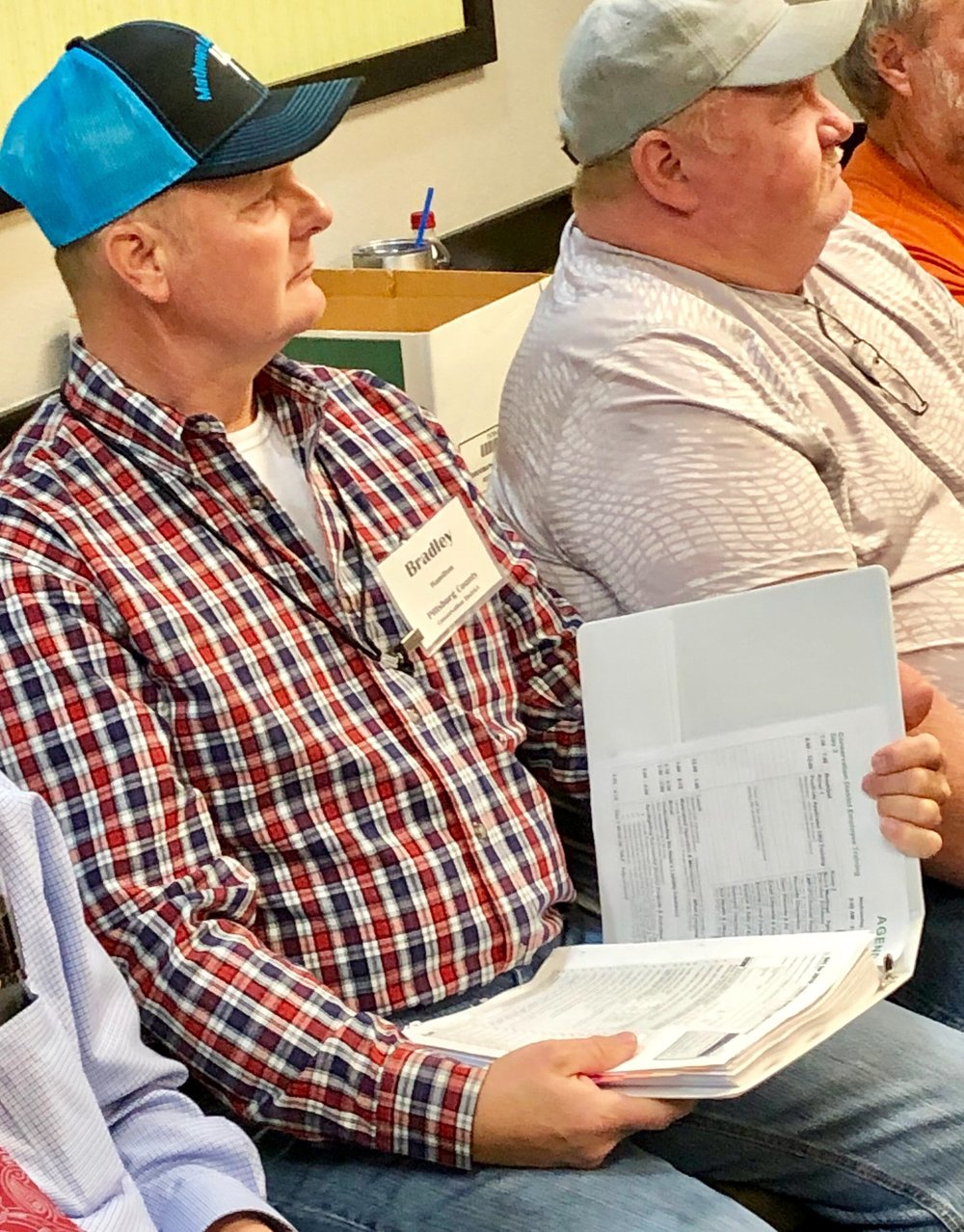 Bradley Hamilton leads the Pittsburgh County Conservation District in southeastern Oklahoma.