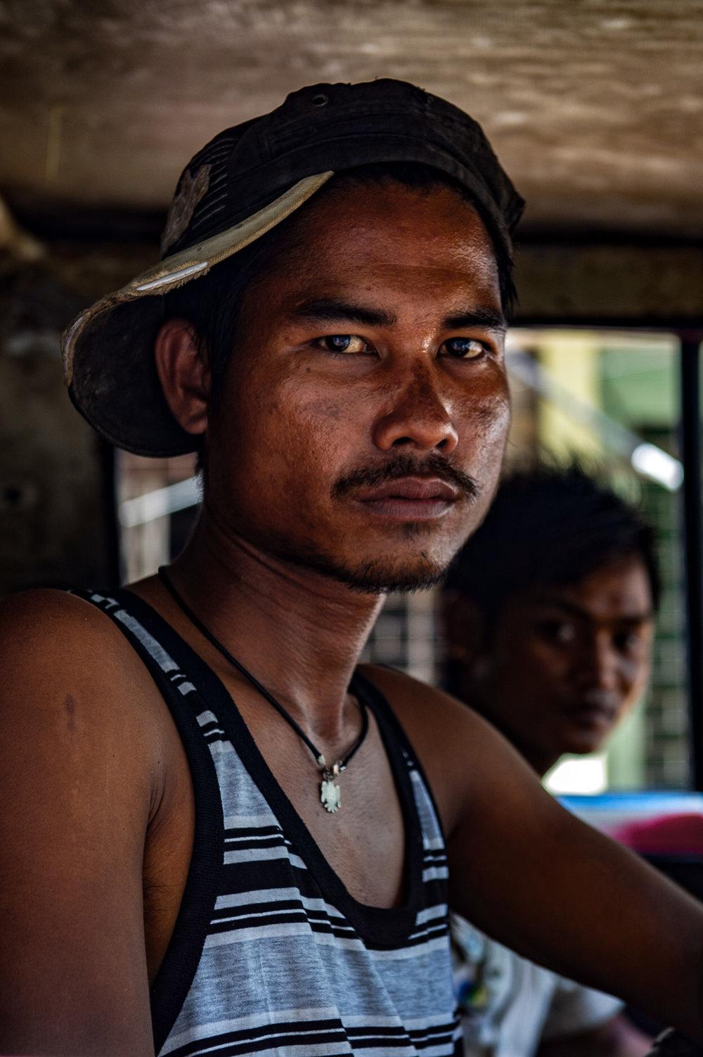 Truck driver. Yangon,Myanmar.