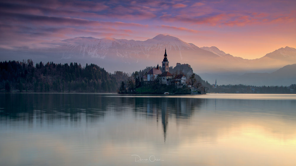 Lake bled, Sunrise on my second morning