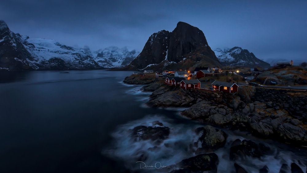 The picture postcard, iconic view of lofoten - Hamnøy. it was this exact view that first drew me to Lofoten - its been shot by many, but its always breathtaking, and for sure i will photograph it again in September. It will leave you breathless....