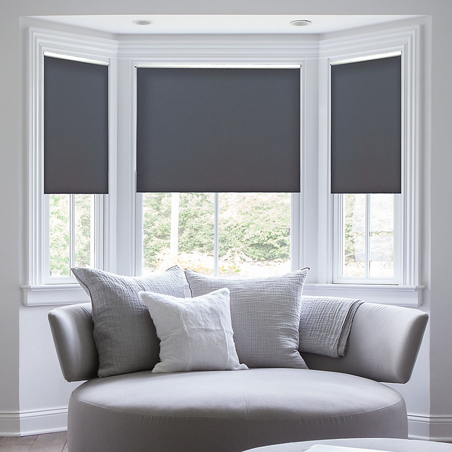 Roller (solar shades)   these treatments are for the minimalist, they're more contemporary, and have clean lines. there are many fabrics available which offer different light filtering and solar shading options.