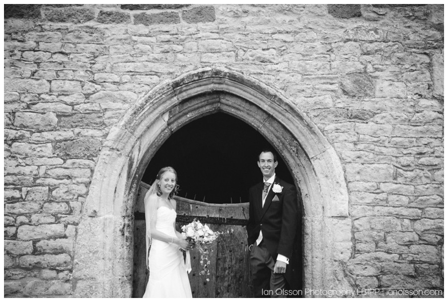 Clare and Tom's wedding at St Michael the Archangel Church in Mere, Wiltshire