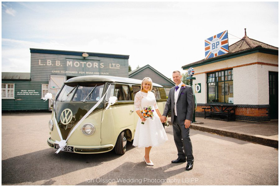Brooklands Museum Wedding Photos dc 1