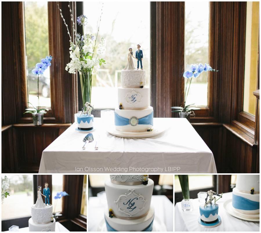 Dunsmore House Warwickshire Wedding Cake by Sweet as Sugar Bagshot