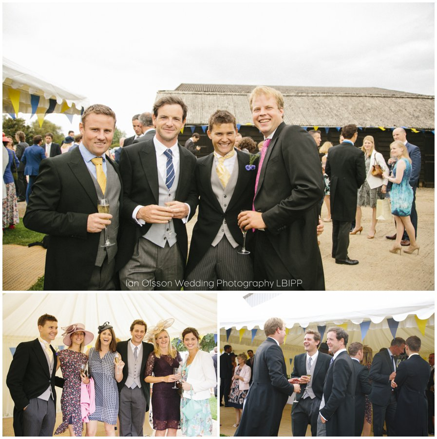Emily and Ed's farm marquee wedding in Oxford 23