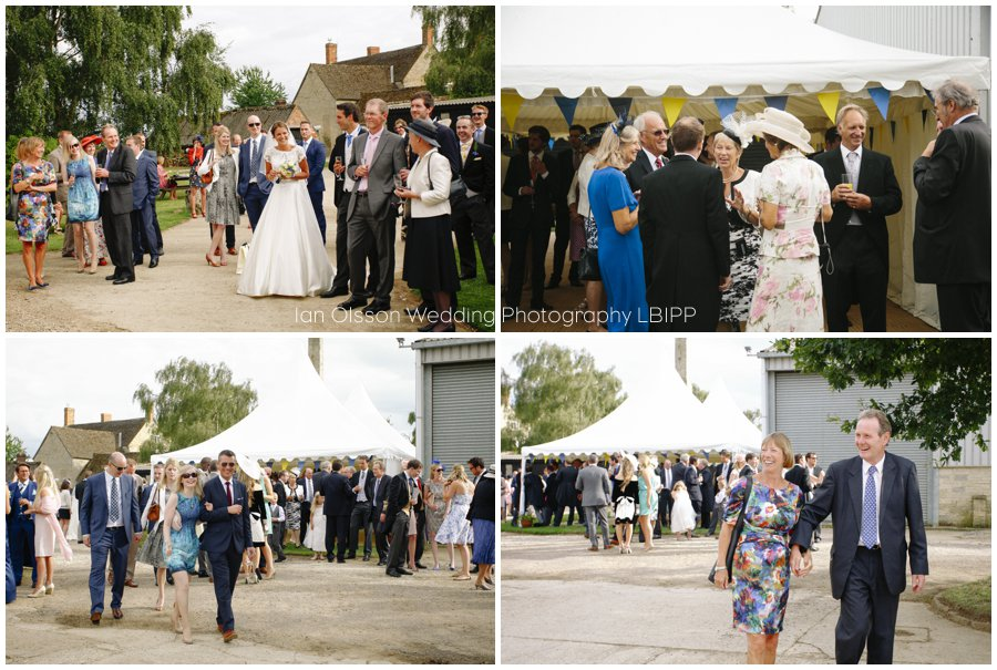 Emily and Ed's farm marquee wedding in Oxford 24