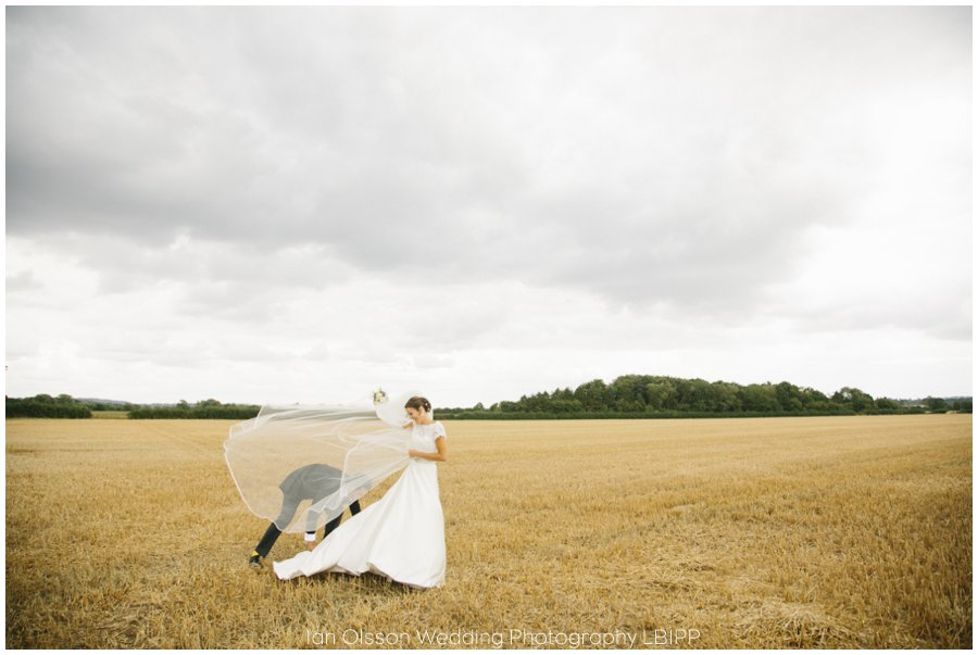 Emily and Ed's farm marquee wedding in Oxford 33