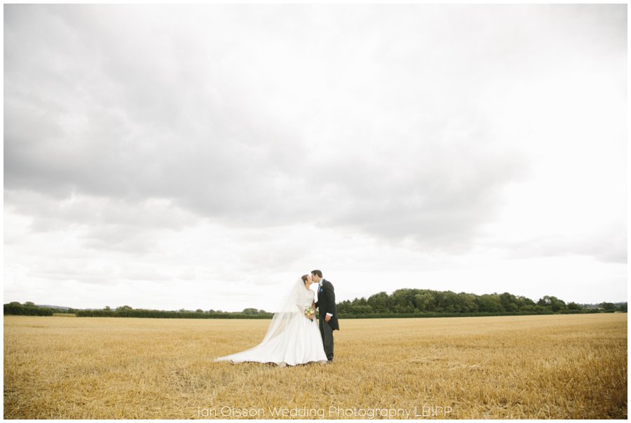 Emily and Ed's farm marquee wedding in Oxford 34