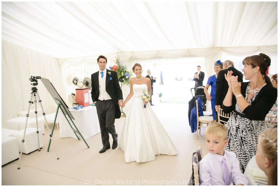 Emily and Ed's farm marquee wedding in Oxford 38