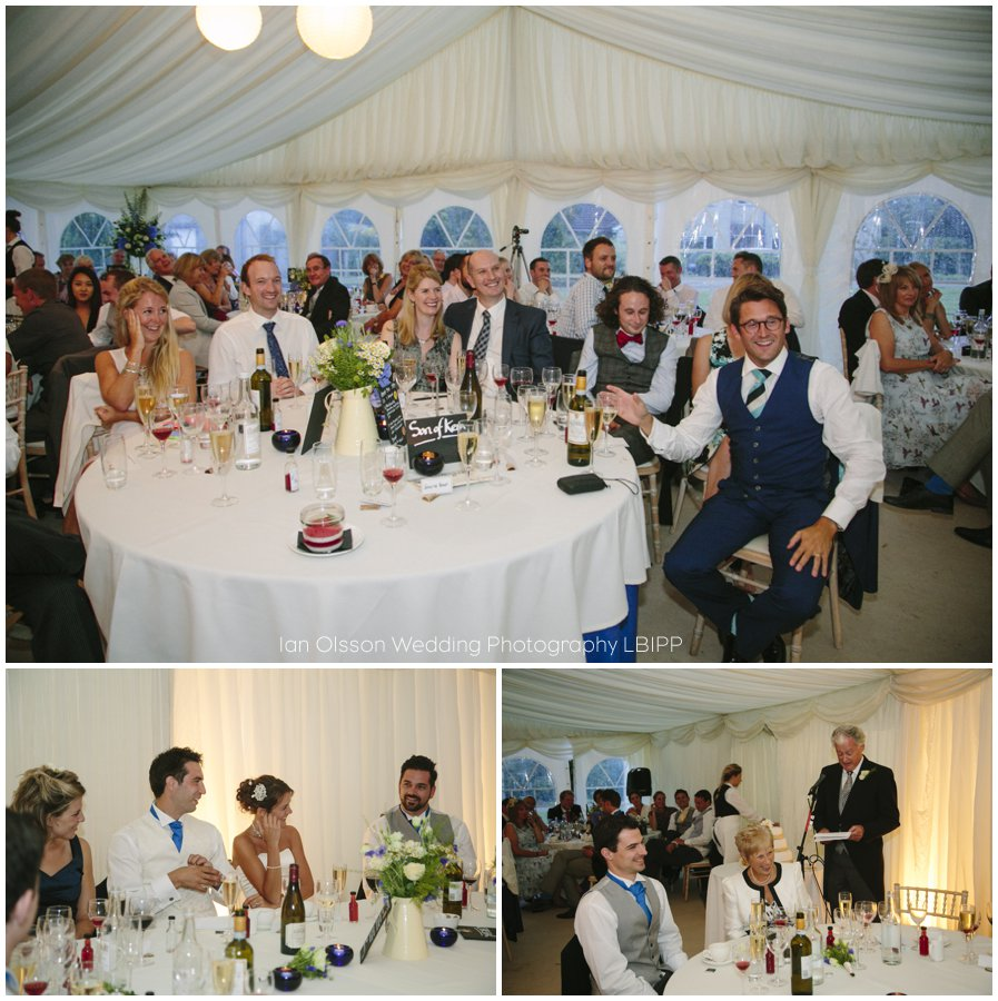 Emily and Ed's farm marquee wedding in Oxford 39
