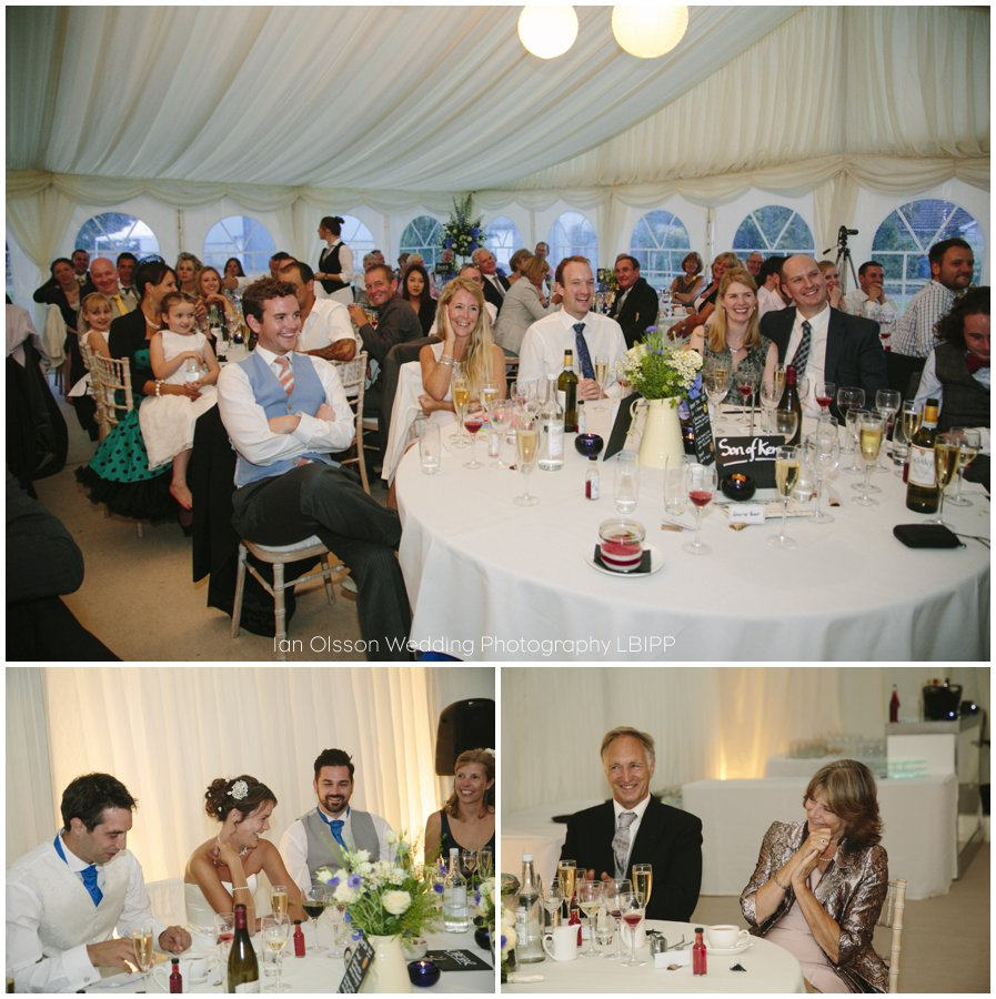 Emily and Ed's farm marquee wedding in Oxford 40