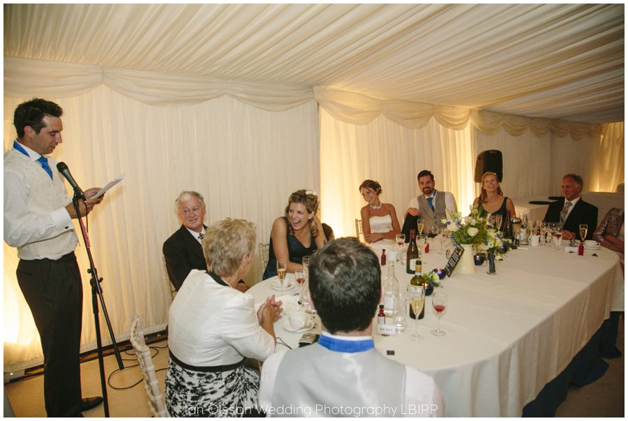 Emily and Ed's farm marquee wedding in Oxford 42