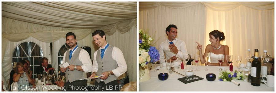Emily and Ed's farm marquee wedding in Oxford 43