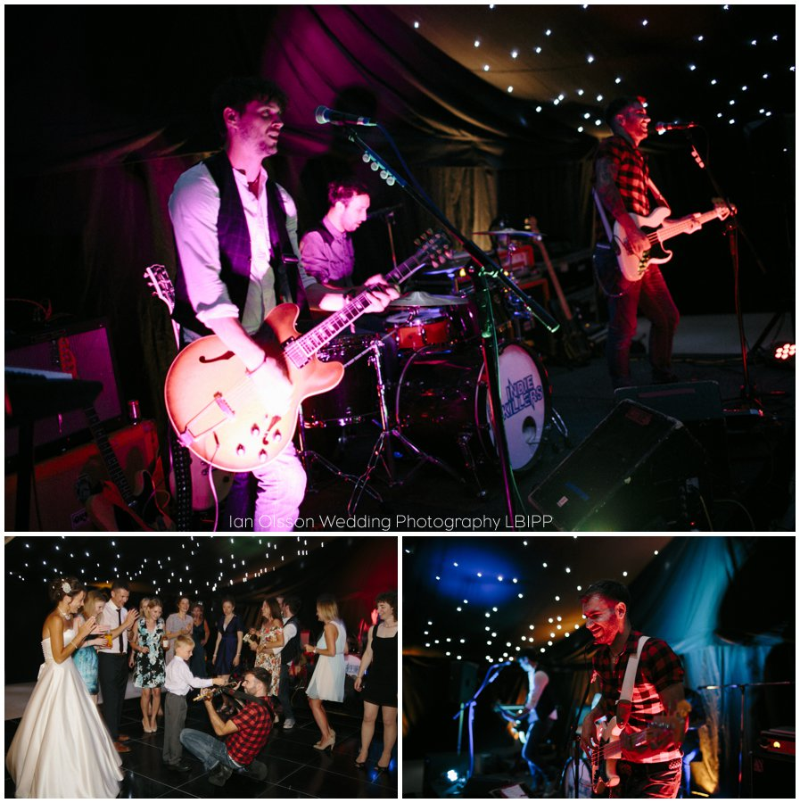 Emily and Ed's farm marquee wedding in Oxford 46