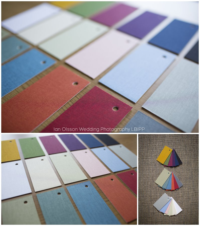 Pastel Fabric, Bold Fabric and Essential Cotton Wedding Album Covers from Folio Albums 2
